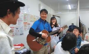 甲村社長がギターを持ったなら。